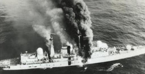 El Hundimiento del HMS Coventry