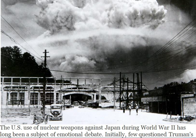 NUCLEAR BOMBS 2 HIROSHIMA and NAGASHAKI