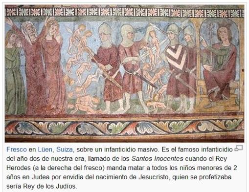 INFANTICIDIO del REY HERODES