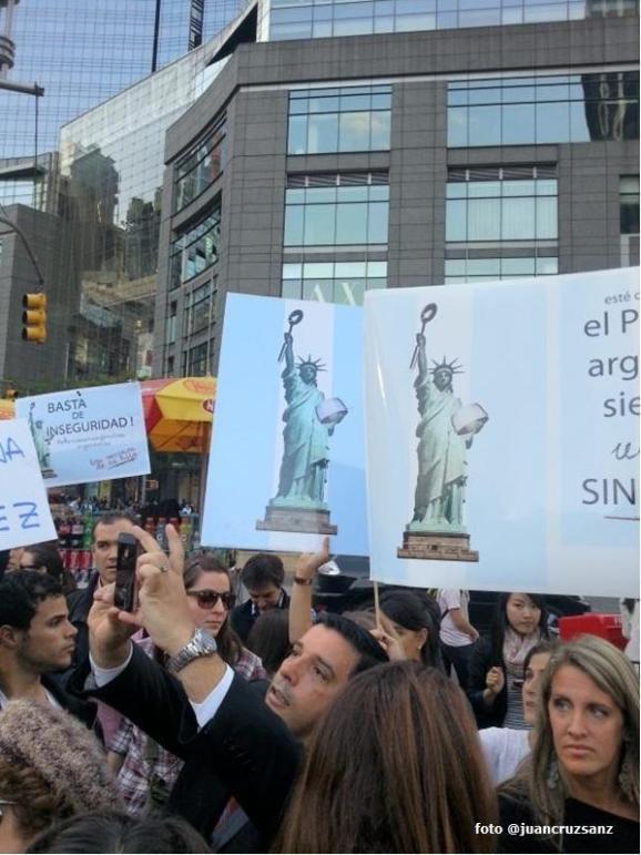 PRESIDENTE ARGENTINO CFK en NEW YORK