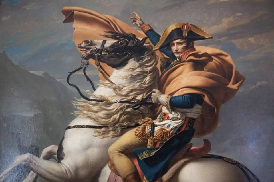 Napoleon Bonaparte volvio de Rusia Derrotado por el hambre
