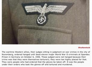 11 Nazi Judges Hanged at Spandau, Nuremberg, October 6, 1946