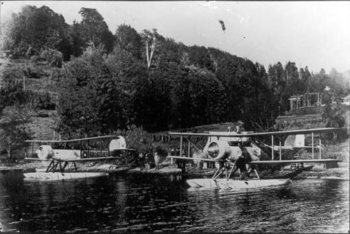 AVION NAVAL en NAHUEL HUAPI 1930 A