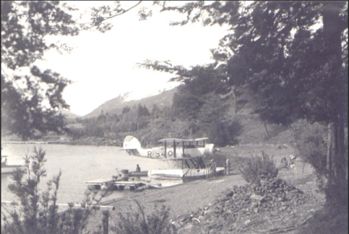 AVION NAVAL EN NAHUEL HUAPI 1930 B