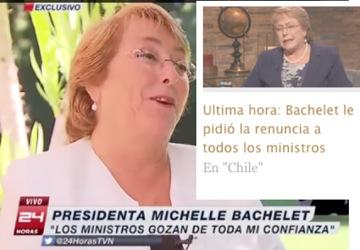 Miente, Miente que algo quedara... (Joseph Goebbels) ... De la (Alemania Nazi) Michelle Bachelete Presidente de Chile, No es la excepcion ... NINGUNO LO ES!